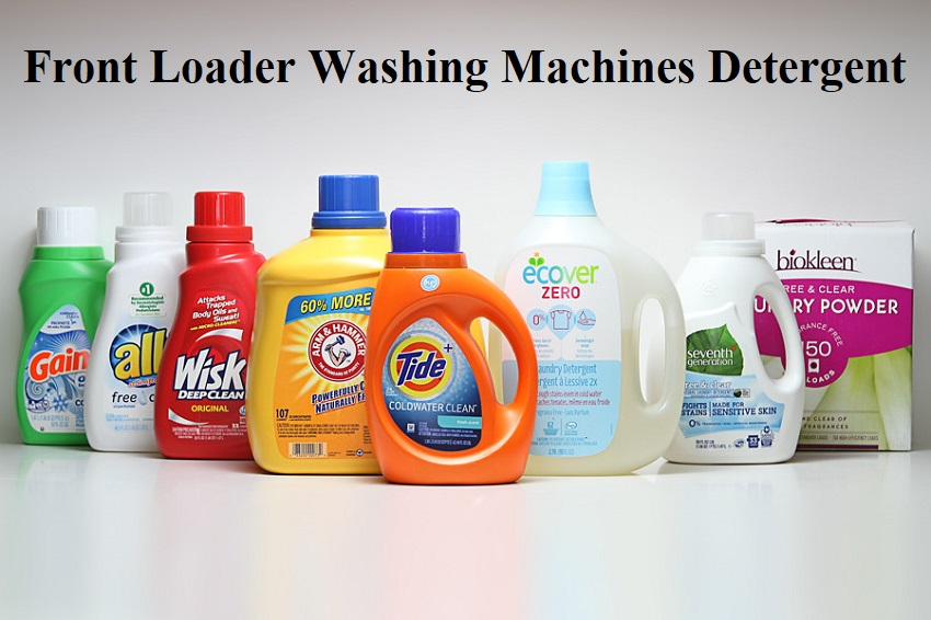 Front Loader Washing Machines Detergent